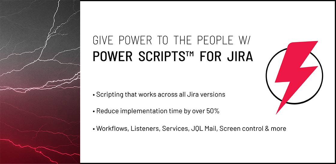Power Scripts™ for Jira Documentation - Power Scripts™ for